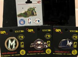 Set of 4 Milwaukee Brewers Logo Collector Pins BLOWOUT PRICE