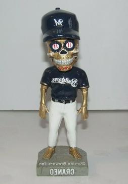 Sugar Skull Milwaukee Brewers Craneo Cerveceros Day Bobblehe